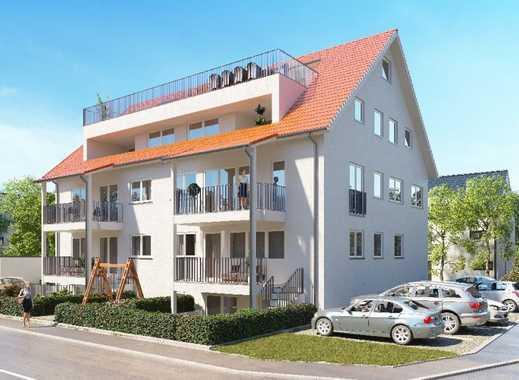 Erstbezug: ansprechende 4-Zimmer-Wohnung mit EBK und Balkon in Endingen