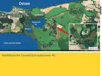 Waldflächen in 18551 Glowe Insel
