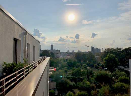 Moderne 3-Zimmer-Penthouse mit toller Sonnenterasse im schönen Mainz!