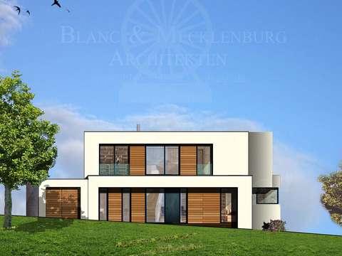 Weisse Moderne....Haus mit Galerie..........Werden-Heidhausen
