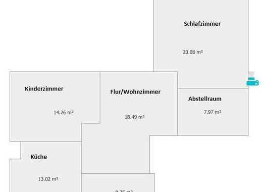 Freundliche 3,5-Zimmer-Wohnung mit Wintergarten und EBK in Mörfelden-Walldorf