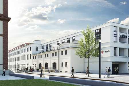 LOFT-ERSTBEZUG - in einmaliger Lage, optimale Raumaufteilung, 3,60 m Raumhöhe, großzügige Fenster in Augsburg-Innenstadt