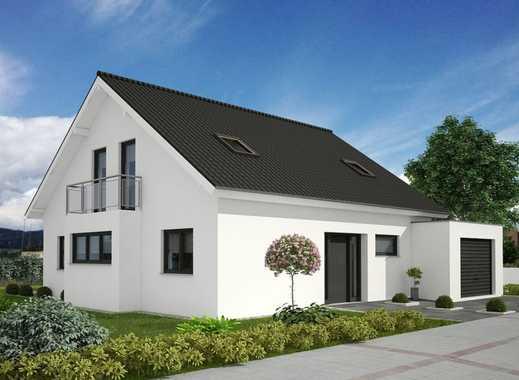 Einfamilienhaus in modernem Stil mit Ausbaureserve und großem Garten!