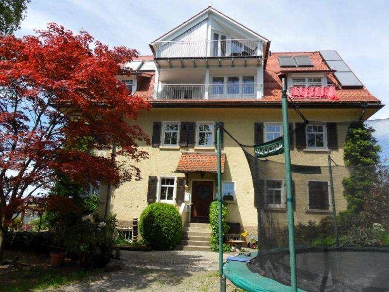 Exklusive, modernisierte 4-Zimmer-Wohnung mit Balkon und EBK in Lindau (Bodensee)