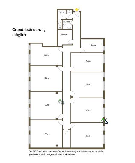 Grundriss 2D