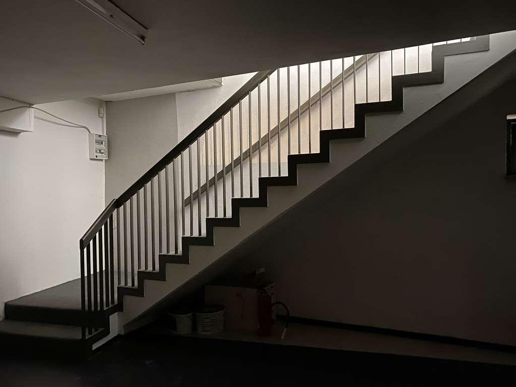 Zugang zur unteren Etage