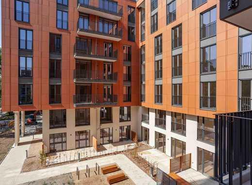 Großzügige 3-Zimmer-Neubauwohnung mit 2 Terrassen umgeben von Kunst und Kultur