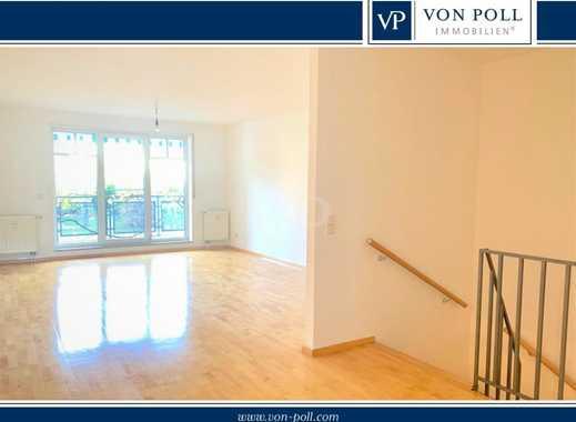 Von Poll Immobilien Ruhige, helle Maisonettewohnung in Mannheim Neuhermsheim