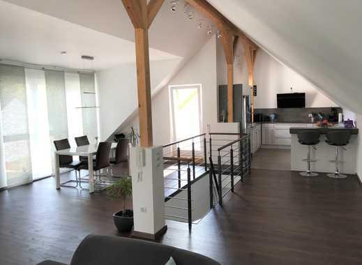 Sehr schöne fünf zimmer küche bad maisonett wohnung mit balkon und loggia