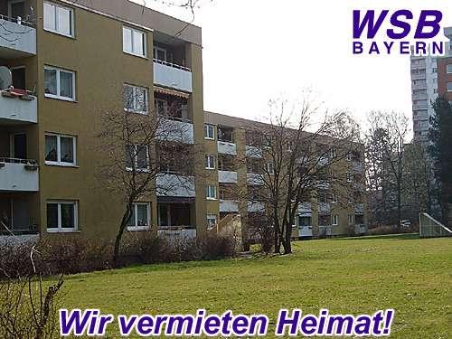 Schöne helle 2-Zimmer-Wohnung mit Loggia in Nürnberg Langwasser zu vermieten in Langwasser Nordwest (Nürnberg)