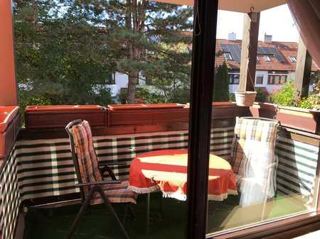 Schöne 2,5 Zimmer Wohnung in München, Moosach, VOLLMÖBELIERT in Moosach