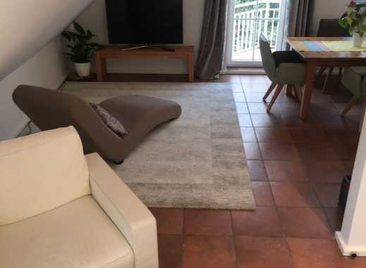 Schicke, möblierte 3,5-Zimmer-DG-Wohnung am Engl. Garten/München-Freimann - befristet!
