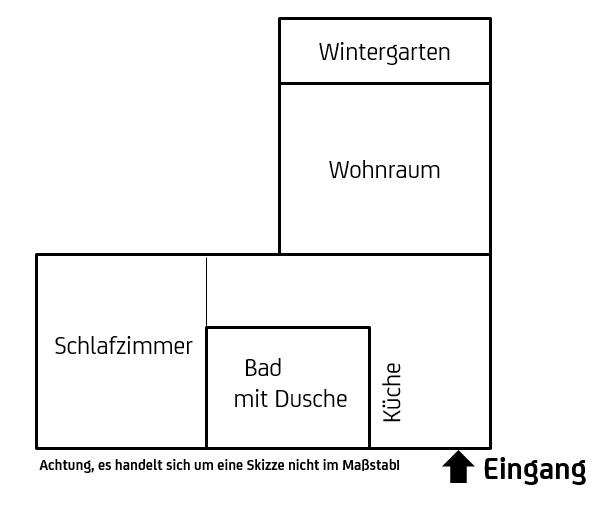 435 €, 63 m², 2,5 Zimmer in