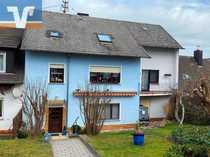 Einfamilienhaus mit Einliegerwohnung und Scheune