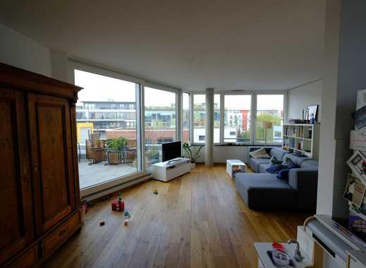 Exklusive geräumige Penthousewohnung, 3,5 Zimmer Wohnung in Köln-Ehrenfeld