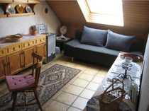 Liebevoll eingerichtete ruhige Wohnung auf