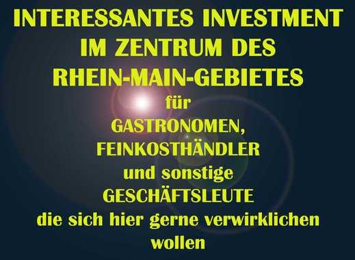 INTERESSANTES INVESTMENT FÜR GASTRONOMEN UND SONSTIGE GESCHÄFTSLEUTE