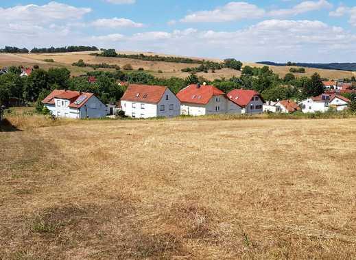 Grundstücke in Eckardtshausen mit wunderbarem Blick