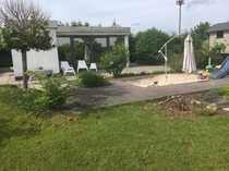 Kleines modernes Gartenhaus auf Pachtgrundstück