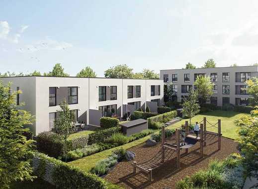 Reihenhaus mit sonnigem Südgarten, Bad mit Fenster, großes Wohnzimmer mit ca. 44 m²