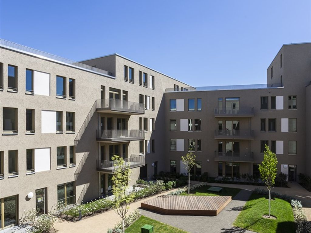 Innenhof Block A 7