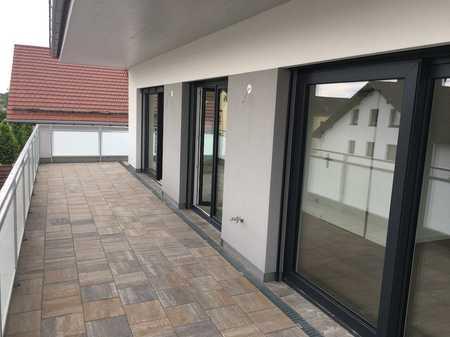NEUBAU! 360°-Rundgang Penthouse-Wohnung mit Dachterrasse in Waldperlach in Perlach (München)