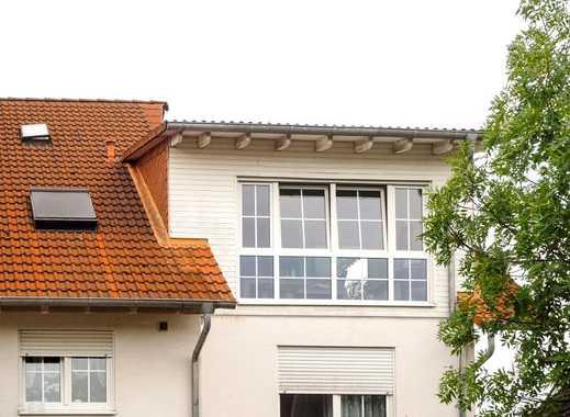 Gehobene 3-Zimmer-Wohnung mit zwei Balkonen im Maisonettestil in vornehmer Wohngegend von Gernsheim