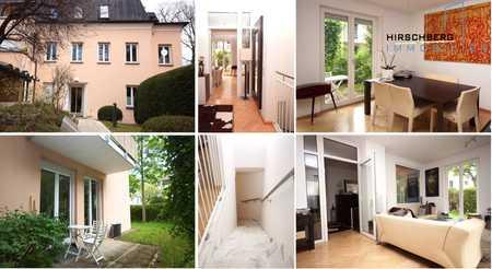 Sehr schön geschnittene 4-Zimmer-Garten-Wohnung mit Souterrain im Grünen & beliebten Obermenzing in Obermenzing (München)