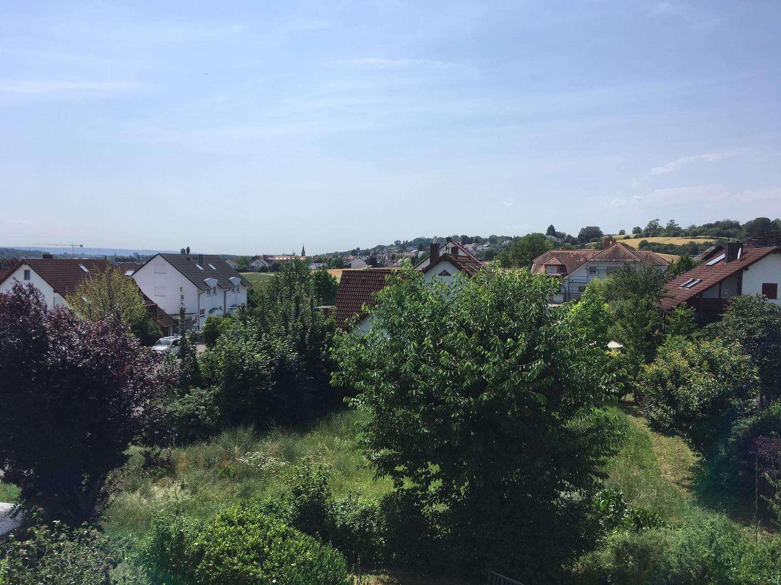 Gepflegte Maisonette-Wohnung mit 2,5 Zimmern zuzügl. ausgebautem Dachspitz und Balkon in Hösbach