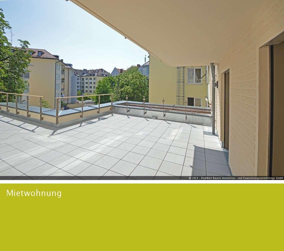 Neubau 3-Zimmer-Wohnung mit XXL Balkon und Blick in den ruhigen Innenhof in Ludwigsvorstadt-Isarvorstadt (München)