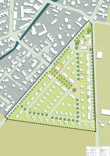 Bauträgergrundstück im Neubaugebiet