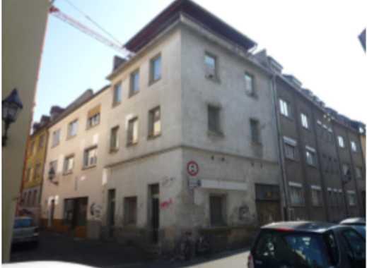 Gebäude Abbruch / Sanierung in Würzburg, Altstadt