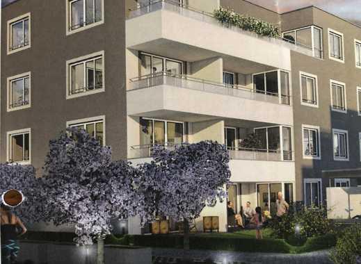 Erstbezug mit wunderschöner Dachterrasse: stilvolle 2-Zimmer-Dachgeschosswohnung in Geretsried