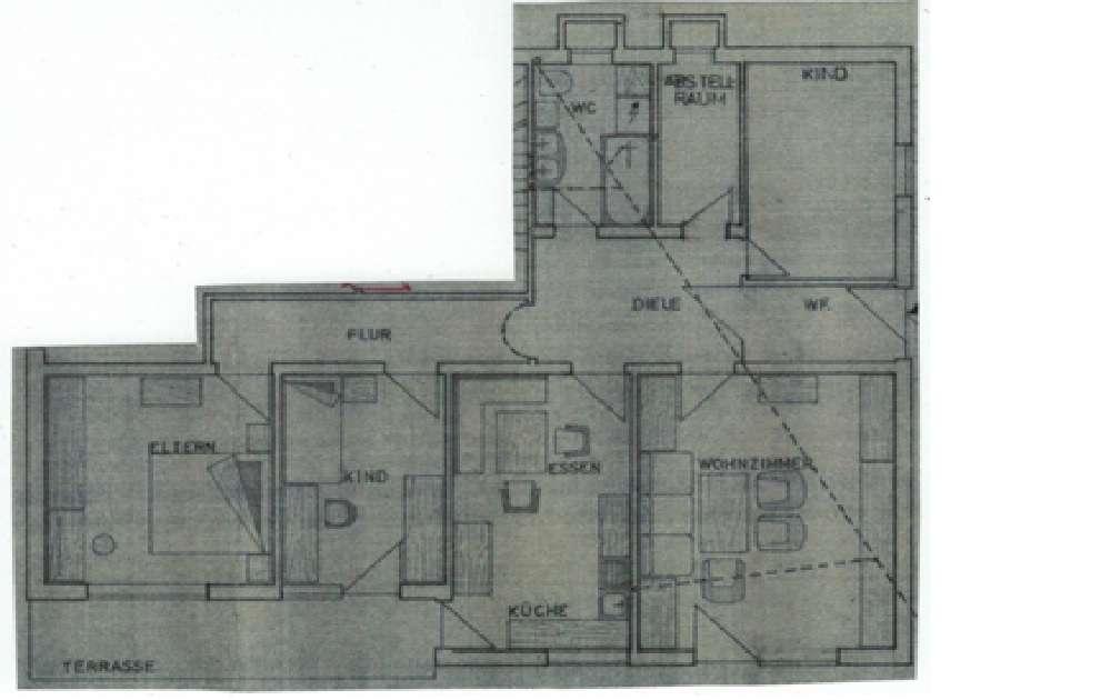 Gepflegte 4-Zimmer-Wohnung mit Terrasse in Laaber in Laaber (Regensburg)