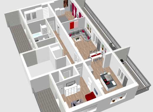 Hochwertige Penthouse-Wohnung mit 4 Zimmern & Balkonen im Agnesviertel inkl. Stellplätzen & Aufzug