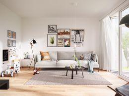 Wohnbeispiel Wohnzimmer