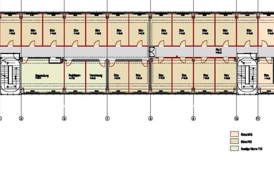 Vorschlag Raumaufteilung