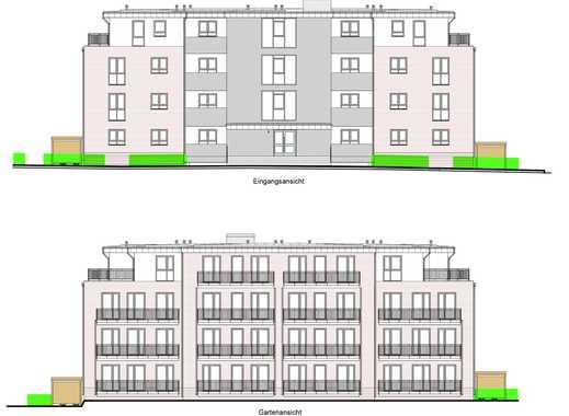Herrliche 2-Zimmer DACHGESCHOSS-WOHNUNG mit Einbauküche und 2 Dachterrassen in guter Lage