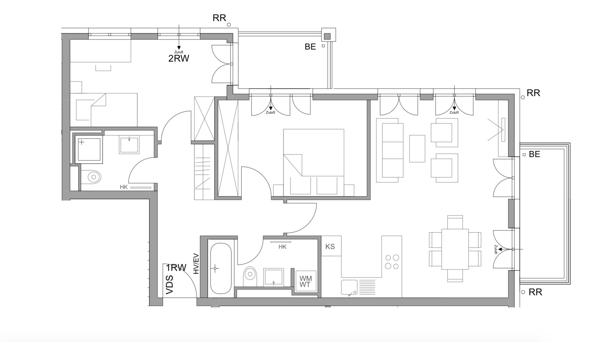 Schöne 3-Zimmer Wohnung am Pasinger Stadtpark in Pasing (München)