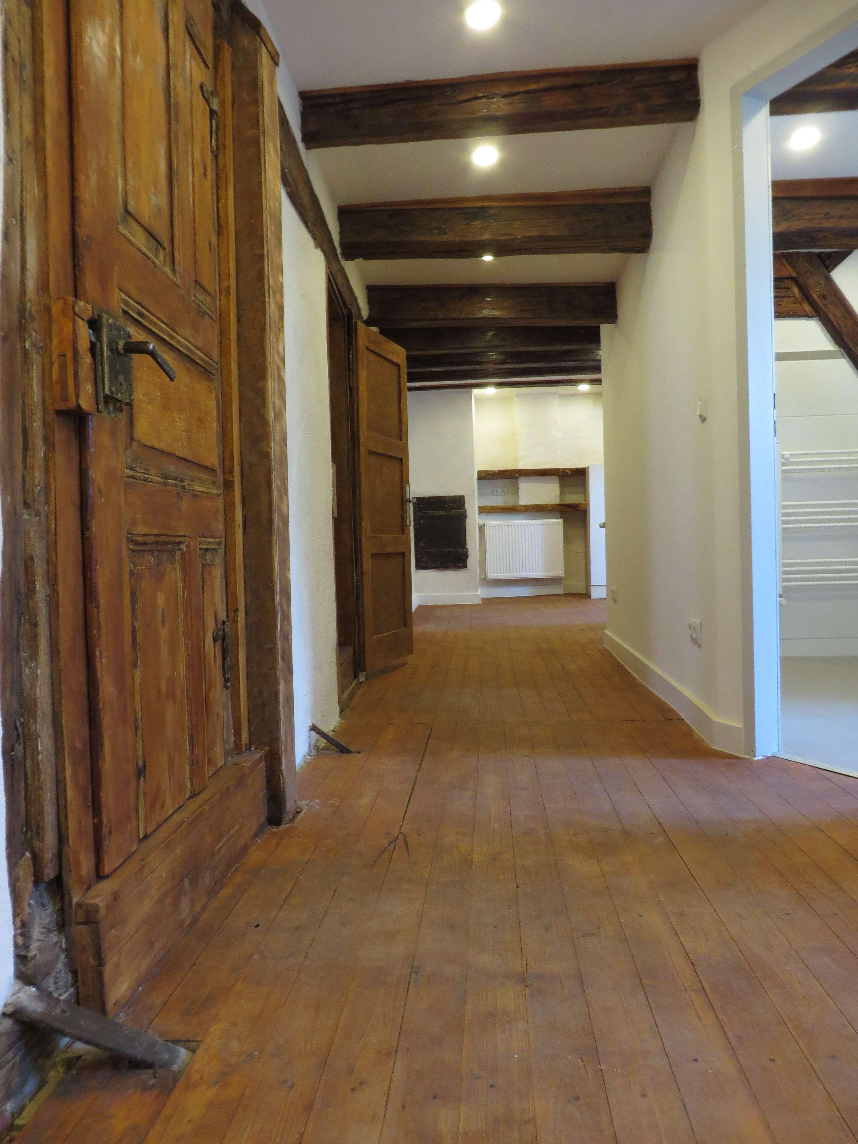 Denkmalschutz in St. Lorenz !  4 Zi-Mais-Whg.  ca. 73 m², Einbauküche, im 4.OG in