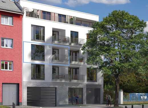 3-Zimmer-Wohnung im 2. OG, Vorderhaus zur Anwohnerstraße, Südloggia