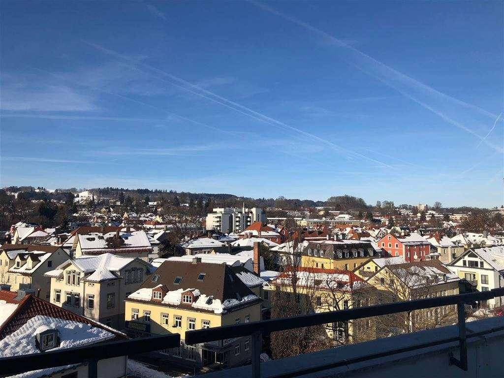 Großzügige 2-Zi.-Wohnung in zentraler Lage in Kempten (Allgäu)-Innenstadt