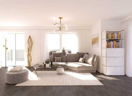 Schicke ETW,  3-Zi., ca. 125 m² Wfl., Einbauküche inkl., Terrasse, Gartenanteil, Tiefgarage, Garage!