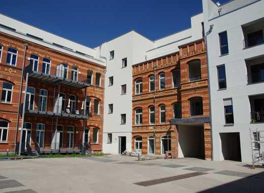 Wohnen im Grafischen Viertel - helle 2 Raum Wohnung mit Loggia