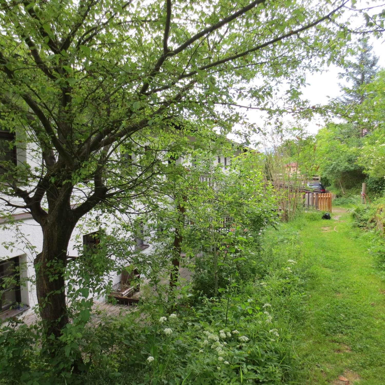 Terrassenwohnung in ruhiger Landschaftsidylle auf Anhöhe in ehemaligem Bauernhof. in Bad Feilnbach