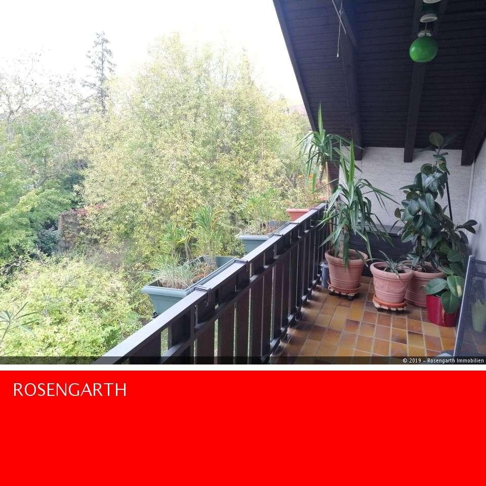 Traumhafte 2 Zimmer Dach- Wohnung mit Balkon & Gartenmitbenutzung im Frauenland in Frauenland (Würzburg)