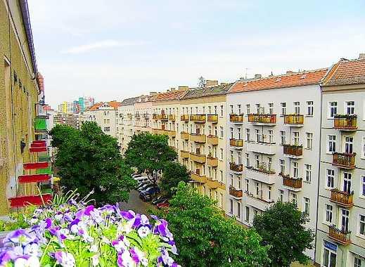 Frankfurter Tor! Schöne 2 Zimmerwohnung im Kiez - Dielen - Separate Räume - 93 m² - 1.179 € warm
