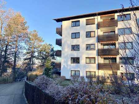 Murnau: Gut geschnittene 2-Zimmerwohnung in Bahnhofsnähe in Murnau am Staffelsee