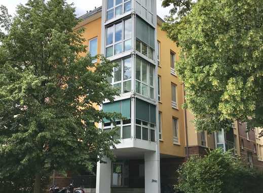 Kapitalanleger: Top 3 Zimmer-Wohnung mit seitlichem Rheinblick in bester Lage von Düsseldorf-Benrath