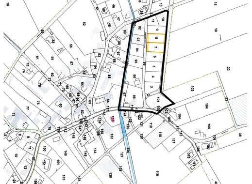 Baugrundstücke in einem Neubaugebiet von Allmenrod
